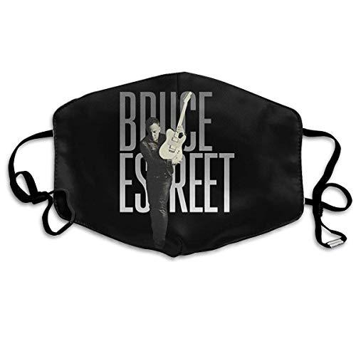 Unisex Nasenmund waschbar Anti-Staub-Schutz Bruce-Springsteen 'E Street' verstellbare Mundschutz