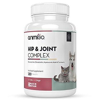 Notre complément alimentaire pour chat et chien à base de glucosamine chondroitine assure un confort et une mobilité optimale pour vos animaux en renforçant leurs articulations Joint Complex est un complement alimentaire pour animaux composé uniqueme...