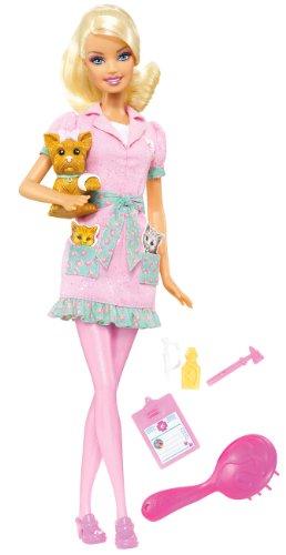 Barbie Quiero ser… - Veterinaria [Versión en inglés]