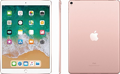 """Latest Model Apple iPad Pro 9.7"""" Multi-Touch Retina Display, 128GB, WiFi + 4G LTE Cellular, A9X Chip, Bluetooth, 12MP iSight Camera, Smart Connector, Rose Gold"""