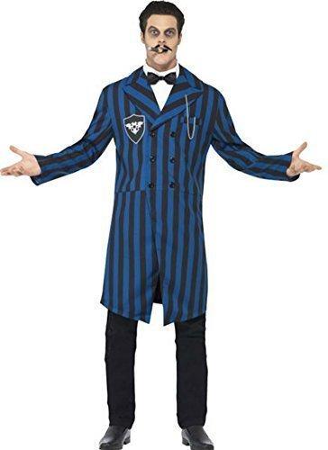 Smiffys Herren Halloween Gomez Addams Family Costume-Med & groß