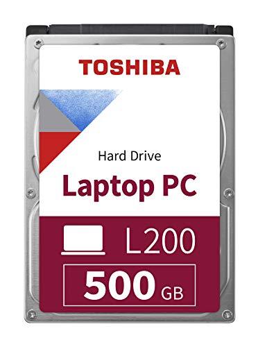 Toshiba L200 schlanke Mobile 500GB interne Festplatte (Bulk) 2,5 Zoll 7mm SATA - HDWK105UZSVA