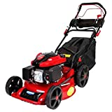 QILIN 20inch 3.5kw 4-Stroke Gasoline Mower Lawn Mower,Lawn Trimme,Portable Collapsible/Side Row Or Grass Frame Two Functions