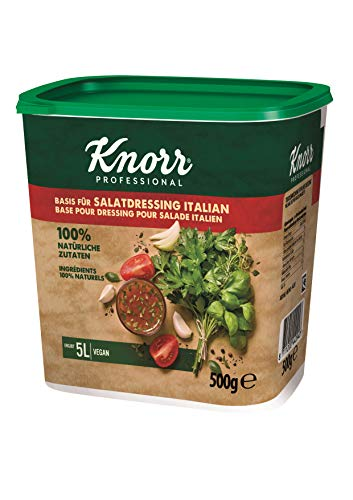 Knorr Basis für Salatdressing Italian (100% natürliche Zutaten) 1er Pack (1 x 0,5kg)