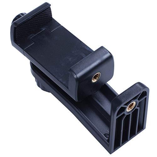 SODIAL Adaptador Universal Smartphone TríPode, Adaptador de Montaje Soporte para TeléFono Celular para el / / Nexus, Usar el 1/4-20 del TríPode, Monopod