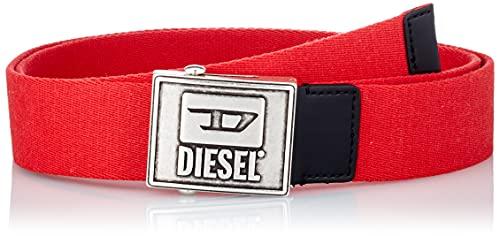 Diesel B-METALTAPE Cinturón, T4047/P1831, 110 para Hombre