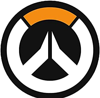 Just Funky Overwatch Logo Round Fleece Blanket, 48 inches - Official Licensed Product