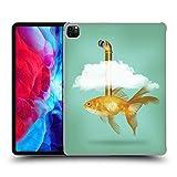 Head Case Designs Officiel Vin Zzep Poisson Rouge de Périscope Poisson Coque Dure pour l'arrière Compatible avec Apple iPad Pro 12.9 (2020)