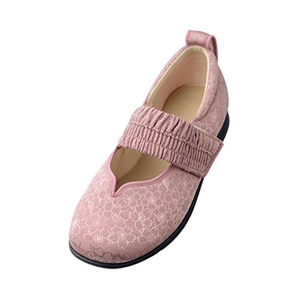 素人冗長とらえどころのない介護靴 施設 院内用 マジックゴムバンド希(のぞみ) 1032 両足 徳武産業 あゆみシリーズ /L (23.0~23.5cm) ピンク ファッション 靴 シューズ サポートシューズ 室内用 top1-ds-1433228-ak [簡易パッケージ品]