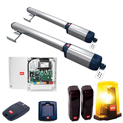 BFT Drehtorantrieb Phobos-Ultra-Kit inkl. Codeschloss, Handsender, Lichtschranke und Warnblinkleuchte