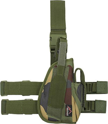 Pistolenholster Tiefzieholster Links und Rechts Farbe Woodland Größe Links