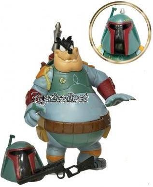 Disney Star Tours Wars Bad Pete as Boba Fett figure