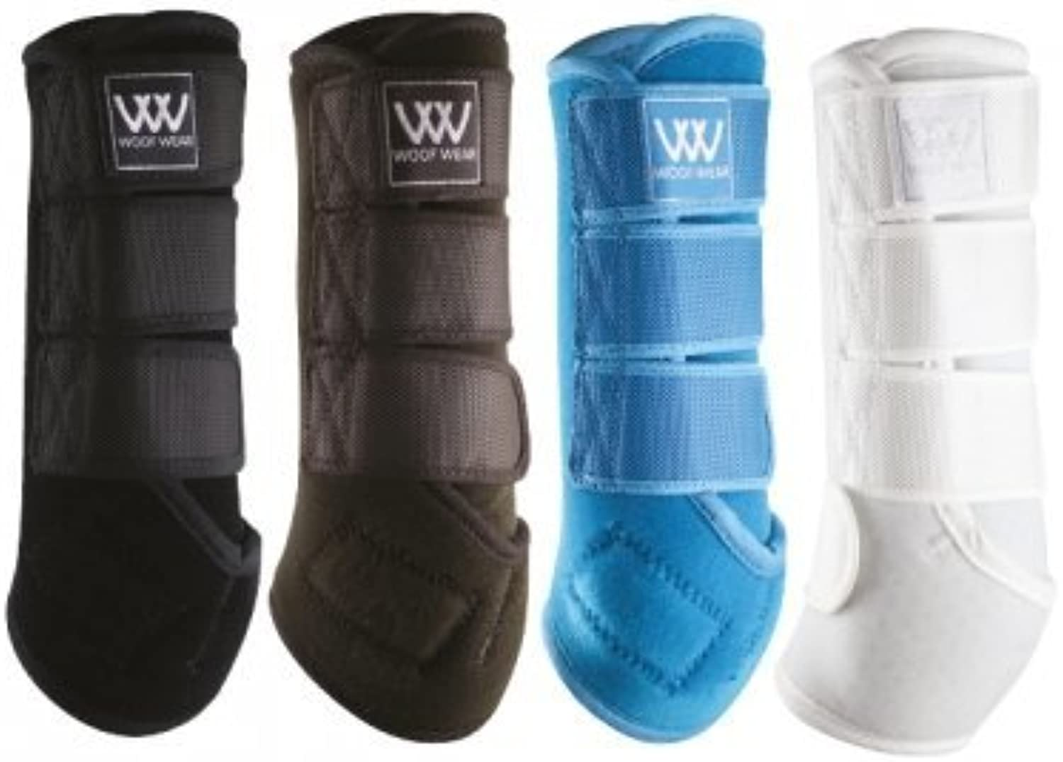 NEW WOOF WEAR DRESSAGE WRAP  PredECTS HORSE AND PONY TENDON AND FETLOCKS (SMALL, BLACK)