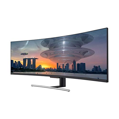 """LC-Power LC-M49-DFHD-144-C Gaming Monitor 49"""" curved UltraWide Display 32:9, 4ms,VA, 2*HDMI, DP, 144Hz schwarz"""