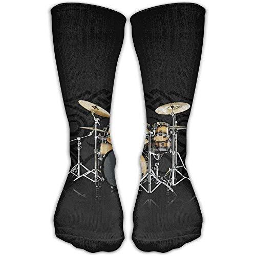 Daisylove Socks Free Golden Drum Damen & Herren Socken Fußballsocken Sport Tube Strümpfe Länge 30 cm
