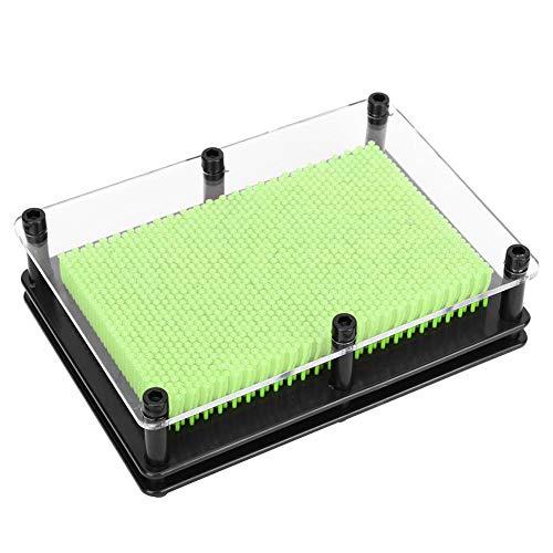 xianshi Lange Lebensdauer leichtes und langlebiges Clone Hand Model, hochwertiges DIY DIY Spielzeug, Schreibtisch für das Büro(Medium Green)