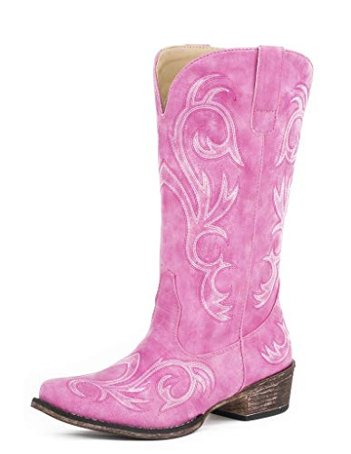 Roper womens Western Boot, Pink, 10 US