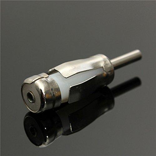 MOMOALA AAlamor ISO naar DIN antenne adapter vervanging voor auto radio hoofd eenheid