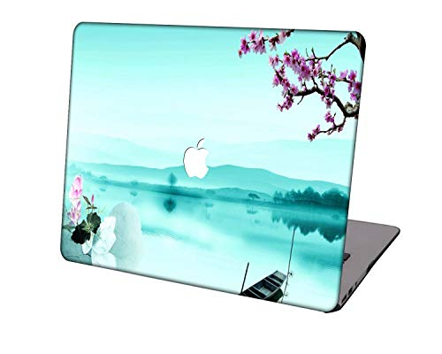 Laptop Case for New MacBook Pro 13 inch A2289/A2251/A2159/A1989/A1706/A1708,Neo-wows Plastic Ultra Slim Light Hard Shell Cover Compatible MacBook Pro 13 inch,Mint Green A 30