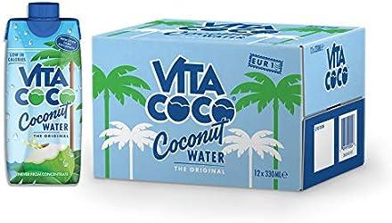 Vita Coco Natural Coconut Water, 12 x 330ml