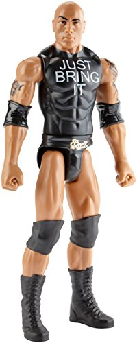 Figura WWE The Rock camiseta negra Just Bring It
