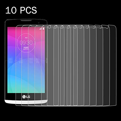 Zhouzl Mobile Phone Tempered Glass Film 10 PCS for LG Leon / C40 0.26mm 9H+ Surface Hardness 2.5D Explosion-Proof Tempered Glass Film Tempered Glass Film