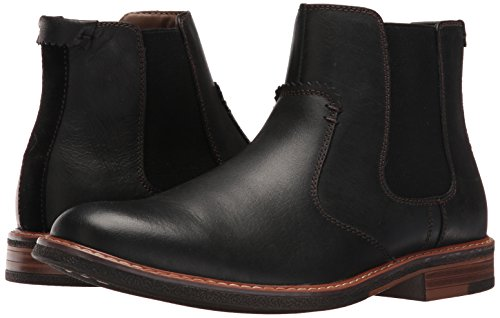 Dockers Men's Badger Chelsea Boot, Black, 12 M US