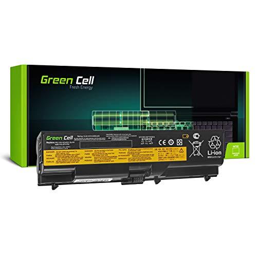 Green Cell® Standard Serie 42T4795 Batería para Lenovo ThinkPad T410 T410i T420 T420i T510 T510i T520 T520i W510 W520 Ordenador (6 Celdas 4400mAh 10.8V Negro)