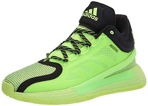 adidas Men's D Rose 11 Basketball Shoe, Green/Black/Green, 7