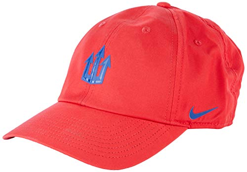 NIKE ATM U Nk Dry H86 Cap Trident Hat, Unisex Adulto, Sport Red/(Coastal Blue), MISC