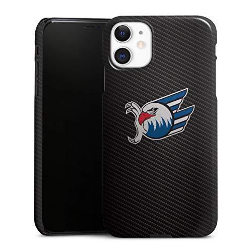 DeinDesign Premium Hülle kompatibel mit Apple iPhone 11 Smartphone Handyhülle Hülle glänzend Adler Mannheim Eishockey Logo