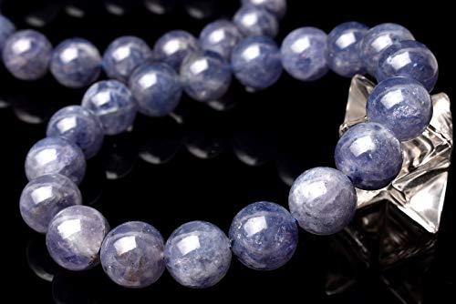 【 福縁閣 】アイオライト 10mm ブレスレット_BG1167-10 天然石 パワーストーン ビーズ