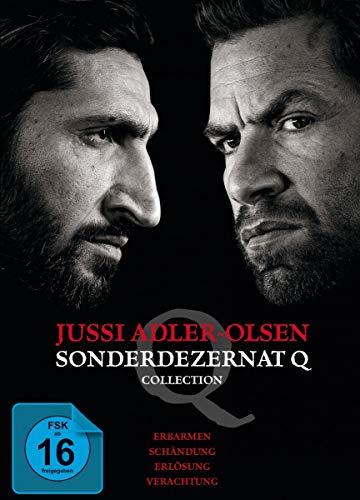 Jussi Adler-Olsen: Sonderdezernat Q - 4 Filme Collection [4 DVDs]