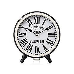 Imax Table Clocks White