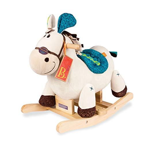 B. toys Wooden Rocking Horse Rodeo Rockers - Banjo