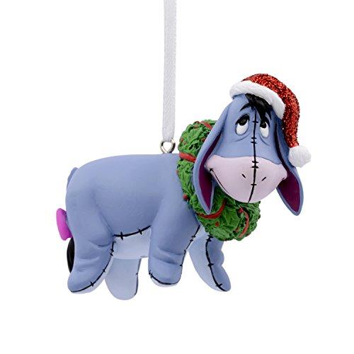 Hallmark Christmas Ornament Disney Winnie the Pooh Eeyore With Wreath