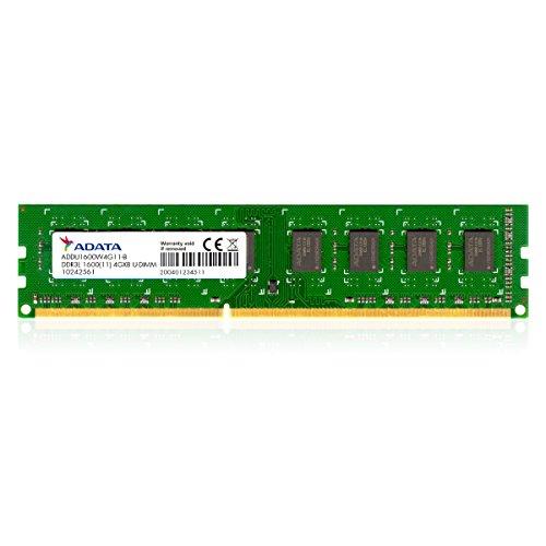 メモリ 4GB DDR3L Low Voltage UーDIMM 1600 ー512×8 リテールパッケージ ADDU1600W4G11-R