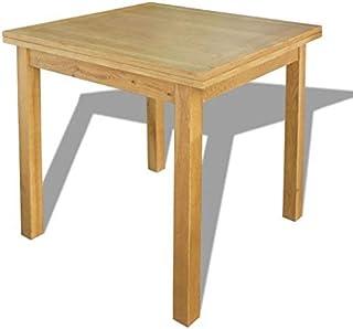 vidaXL Chêne Table Extensible Meuble de Salle à Manger Cuisine Repas Dîner