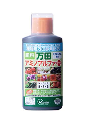 万田酵素 アミノアルファ プラス 100ml 植物用 液体 肥料