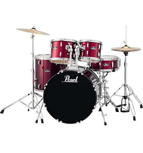 Batería Pearl Roadshow Rock 22 '5 Fûts – Red Wine