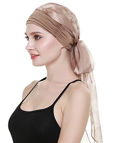 FocusCare Easy Wear para Mujer Cancer Chemo Gorros Bufandas Gorros Elastic Beanie