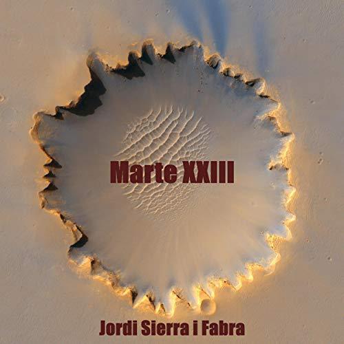 Diseño de la portada del título Marte XXIII