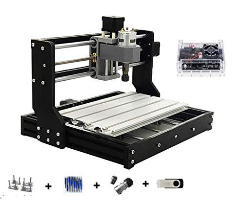 DIY Mini CNC 3018 PRO GRBL Control CNC Router Kit 3 Axis Desktop Milling Engraver Engraving Machine Engrave PVC,PCB,plastic,acrylic,wood router CNC3018 Pro ER11 Collet (3018PRO)