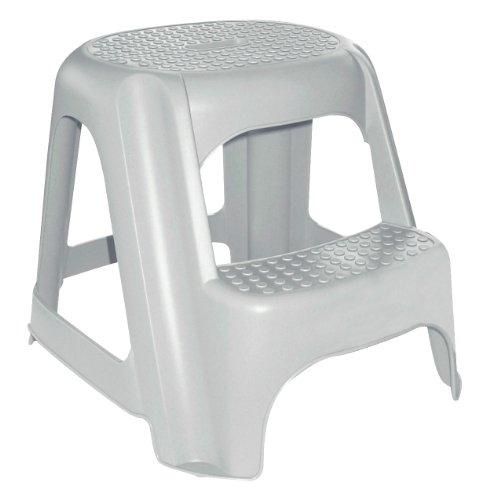 CURVER Zwei Schritt Stuhl grauen Granit, Plastik, Grey, 1.1000000000000001 x 1.1000000000000001 cm