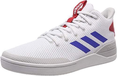 adidas Bball 80s, Zapatillas Altas Hombre, Blanco (Footwear White/Blue/Scarlet 0), 42 2/3 EU
