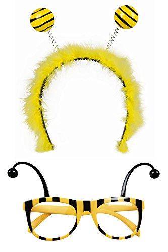 Marco Porta Set de accesorios para disfraz de abeja