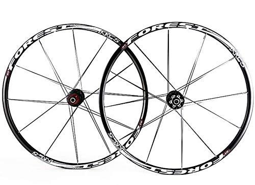 Juego de ruedas de bicicleta, 26,27.5 pulgadas, juego de ruedas de freno de disco de bicicleta de montaña, liberación rápida, 5 rodamientos Palin, 8 9 10 velocidades, ruedas delanteras y traseras par