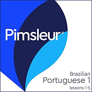 Pimsleur Portuguese (Brazilian) Level 1 Lessons 1-5 cover art