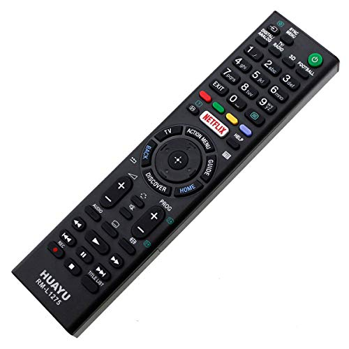 Telecomando di ricambio Sony LED LCD 3D TV KDL32W705C / KDL40W705C Netflix Remote Control – controllo remoto – funzionamento del sistema di controllo remoto – Télécommande, Kumanda, Plug & Play