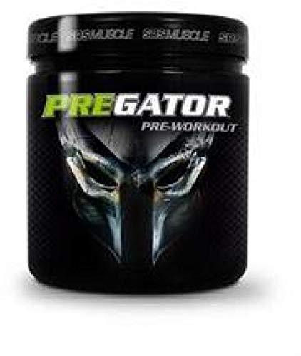 SRS Muscle - Pregator, 448 g, Green Apple Shock | Pre Workout Booster | kreatinfrei | deutsche Premiumqualität
